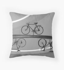 High Cycle Throw Pillow
