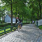 On the bike! by Annbjørg  Næss