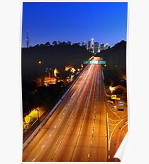 110 FWY to Downtown L.A. Poster