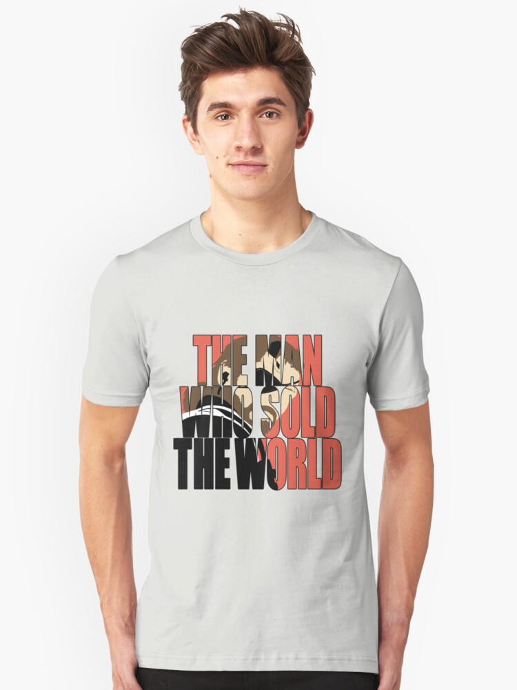 The Man Who Sold The World Unisex T-Shirt Front