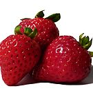 Mouthwatering Strawberries  by Marcia Rubin