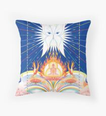 Compassionate Eyes Throw Pillow