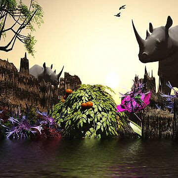 The Rhino's Oasis by alaskaman53
