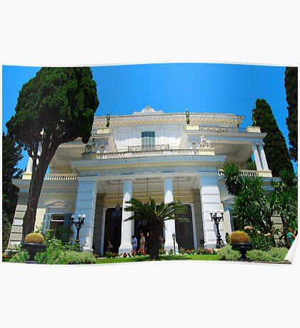 Achilleion's Palace, Corfu Poster