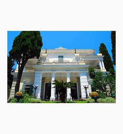 Achilleion's Palace, Corfu Photographic Print