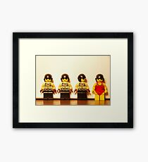 Proud To Be Different Framed Print