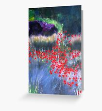 Summer in a Cooler Place Greeting Card