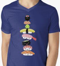 Sushi Stack Men's V-Neck T-Shirt