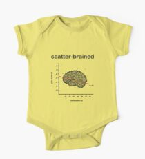 Scatter-Brained One Piece - Short Sleeve