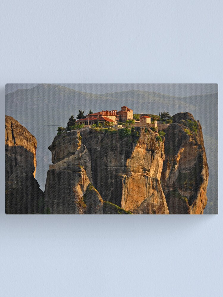 Alternate view of Monastery of the Holy Trinity Canvas Print