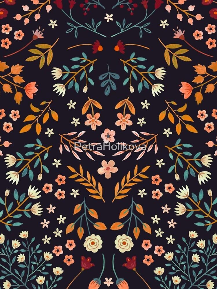 Watercolor Flowers by PetraHolikova