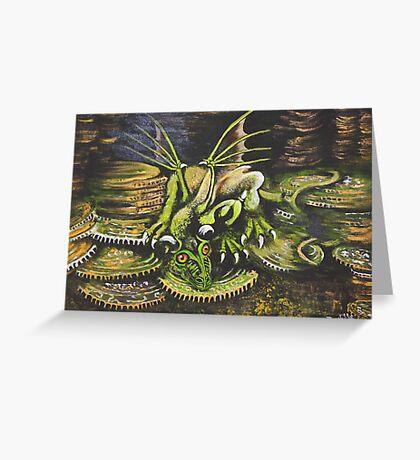 Sarah's Dragon Greeting Card
