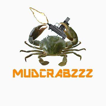 Gangsta Mudcrab by Mudcrabzzz