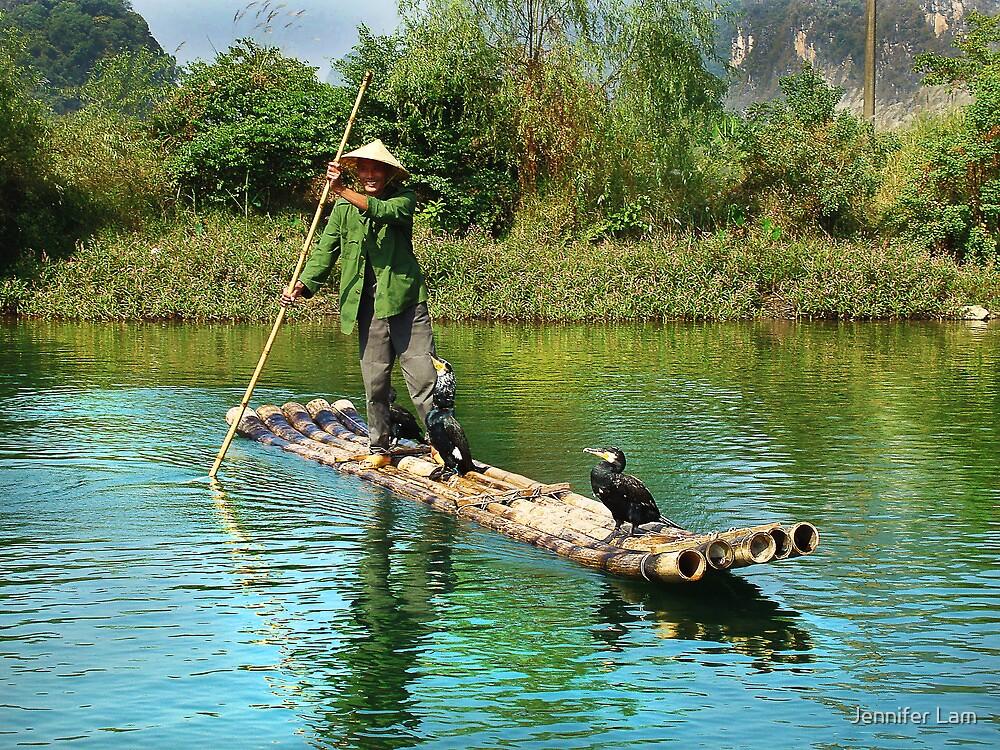 Rural Fisherman by Jennifer Lam