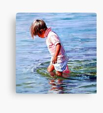 The Weight of Water Canvas Print