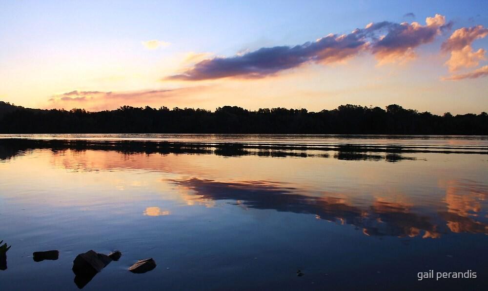 reflecting on tweed ... by gail woodbury