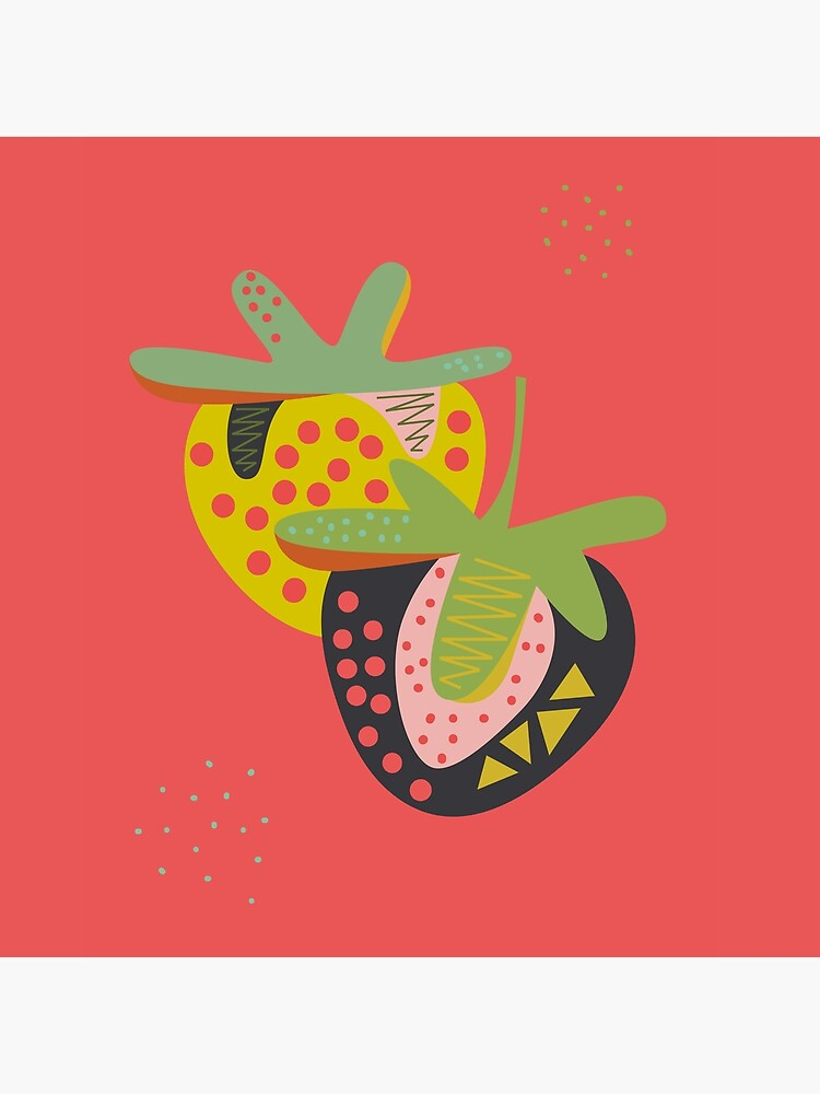Strawberries by FLATOWL