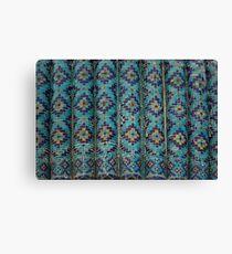 Tiles, Amur Timur Mausoleum Canvas Print