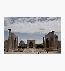 Registan Square view Photographic Print