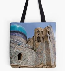 Bibi Khanum Mosque Tote Bag