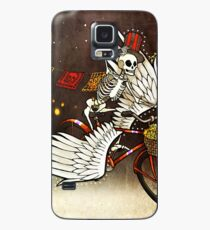 Skeleton on a Bike Case/Skin for Samsung Galaxy