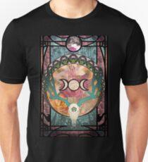 Lunar Deer Skull T-Shirt