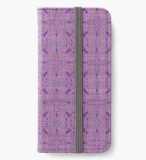 Fun crazy fabric iPhone Wallet/Case/Skin