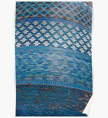 Tiles of the Khiva Unfinished Minaret Poster