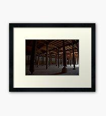 Jameh Mosque Khiva Framed Print
