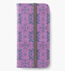 Decorative fun fabric iPhone Wallet/Case/Skin