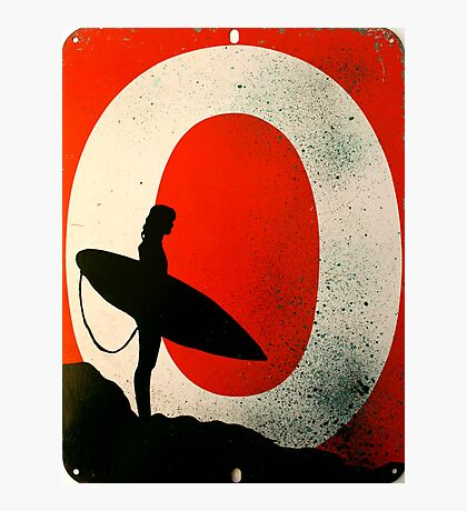 An Ocean of Oil - Surfer Photographic Print
