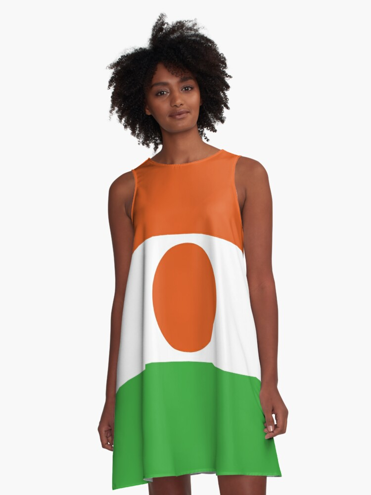 Niger My Country The Best A Line Dress By Sojyart Redbubble