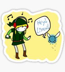 Hey Listen!! Sticker