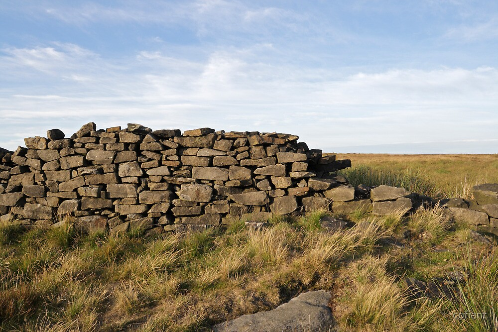 Peakland Dry Stone Wall by Kevin Round