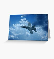 Where Eagles Fly Greeting Card