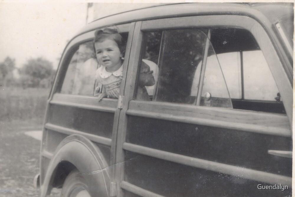 Una bambina...su una vecchia giardinetta-parma-italia-Europa-.1800 VISUALIZZAZ.GIUGNO 2013 -VETRINA RB EXPLORE 12 OTTOBRE 2012-- by Guendalyn