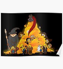 Despicable Hobbit... & Dwarfs  Poster