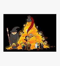 Despicable Hobbit... & Dwarfs  Photographic Print