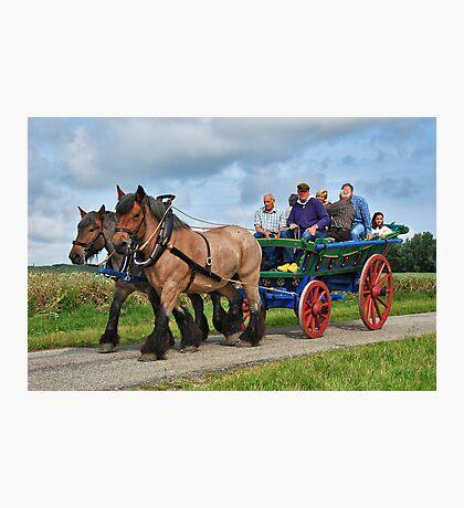 Farmer's wagon from Schouwen. Photographic Print