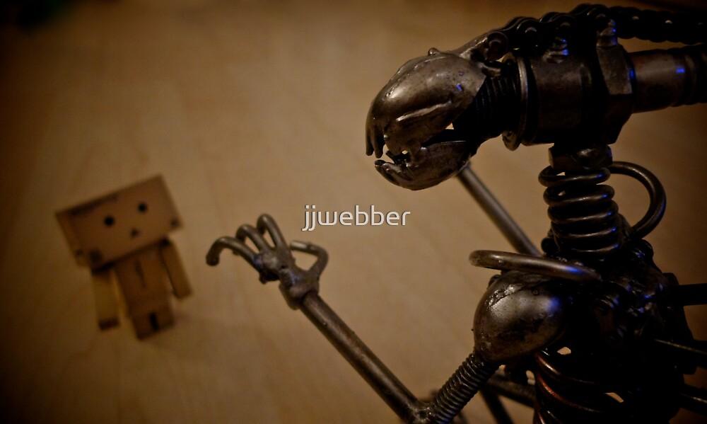 Alien Vs Danbo by jjwebber