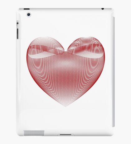 Calligraphic Heart iPad Case/Skin