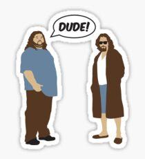 The Dudes (Lost / Big Lebowski Shirt)  Sticker