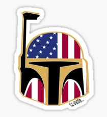 CLSR- USA Boba Fett Sticker