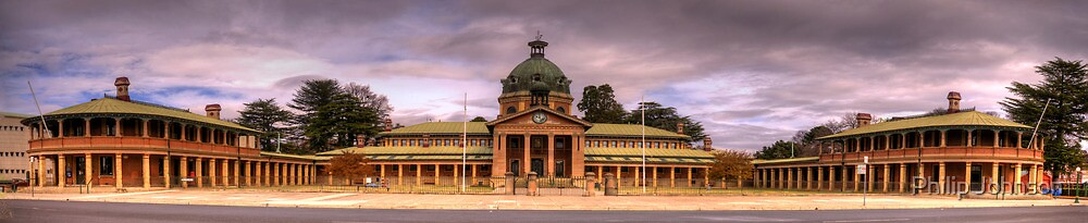Colonial Elegance Revisited - Bathurst Court House , Bathurst NSW Australia - The HDR Experience by Philip Johnson
