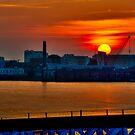 Thames Sunrise - London, UK. by DonDavisUK
