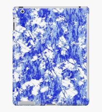 Blue rust iPad Case/Skin