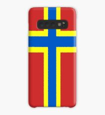 Orkney Flag Stickers, Gifts and Products Case/Skin for Samsung Galaxy