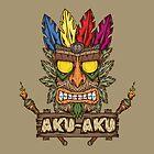 Aku-Aku (Crash Bandicoot) by Pancho The Macho