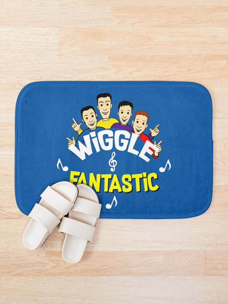 Alternate view of Cute Kids Wiggle Fantastic - Love Kids Songs - Cutest Kids Birthday - Wiggles Son Or Daughter Bath Mat