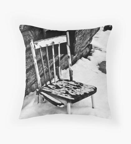 Broken Chair Throw Pillow
